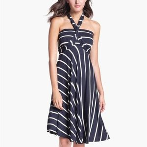 Nordstrom navy convertible dress -- size S